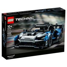 乐高LEGO积木益智玩具机械组2021年新款生日礼物8岁+42123McLaren Senna GTR