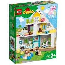 乐高得宝系列LEGO10929梦想之家大颗粒积木房子幼儿拼搭儿童玩具
