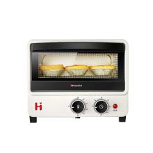 海氏(Hauswirt)电烤箱家用小型12L多功能全自动烘焙蛋糕迷你早餐烤箱B08 米白色