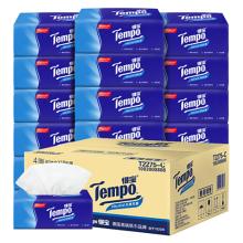 得宝 (Tempo)抽纸 4层超厚90抽 18包纸巾天然无香整箱销售
