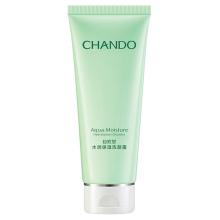 自然堂(CHANDO)水润保湿洗颜霜100g 补水保湿深层清洁毛孔