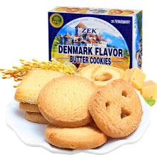 ZEK丹麦风味黄油曲奇饼干90g*4