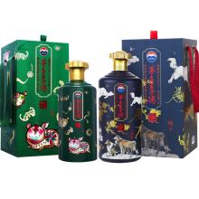 贵州茅台王子酒生肖 戊戌狗年5L+己亥猪年2.5L