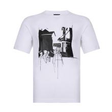 Z ZEGNA 杰尼亚 男士棉质圆领短袖T恤 VS372 ZZ630B