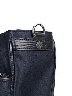 GIORGIO ARMANI乔治 阿玛尼混合材质经典logo提花男士手提单肩两用图片