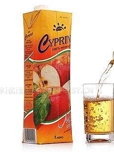塞浦丽娜 苹果汁 1L