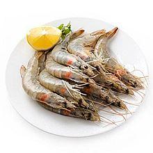 易果生鲜 厄瓜多尔白虾(50-60只/kg) 425695[2kg]