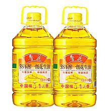 鲁花 5S压榨一级花生油 [4L*2]