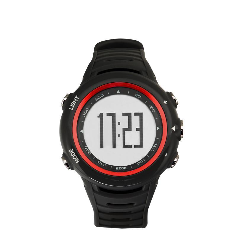 宜准ezon 心率表运动手表心率带计步器手表跑步表t003