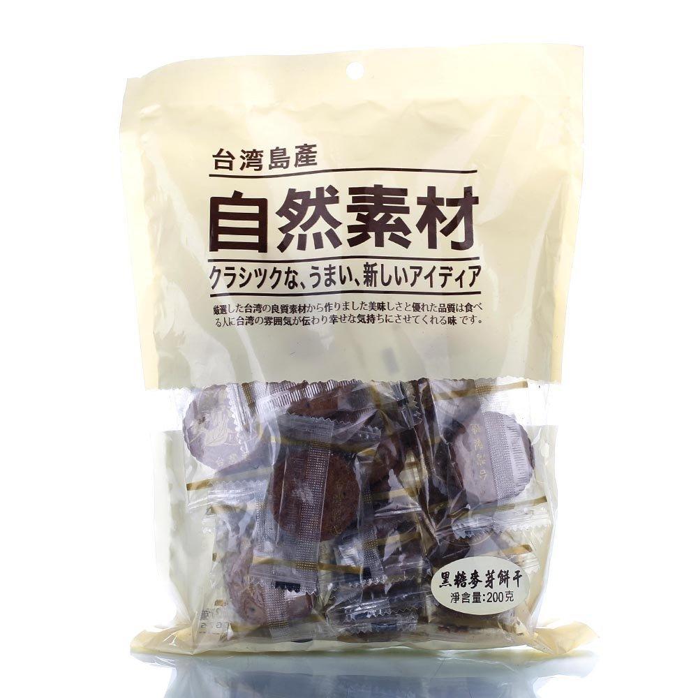 [民生员工专享] 自然素材 黑糖麦芽饼 200g