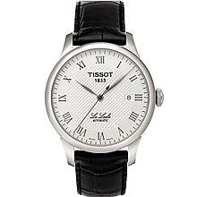天梭 (Tissot) T-Classic力洛克系列 机械男表 T41.1.423.33 [黑色]