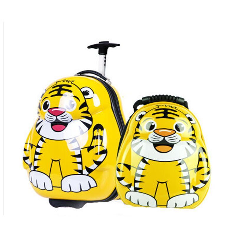 其他品牌 唯米 儿童拉杆箱旅行箱可爱卡通背包书包蜜蜂背包瓢虫子母