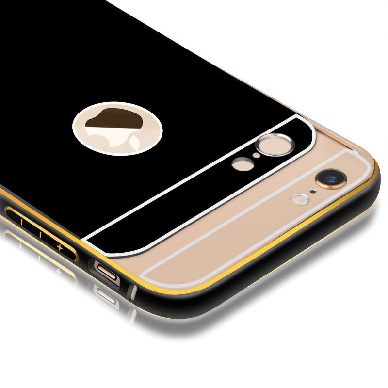其他品牌 手机壳手机套金属保护边框 适用于苹果iphone6/plus [睿智黑