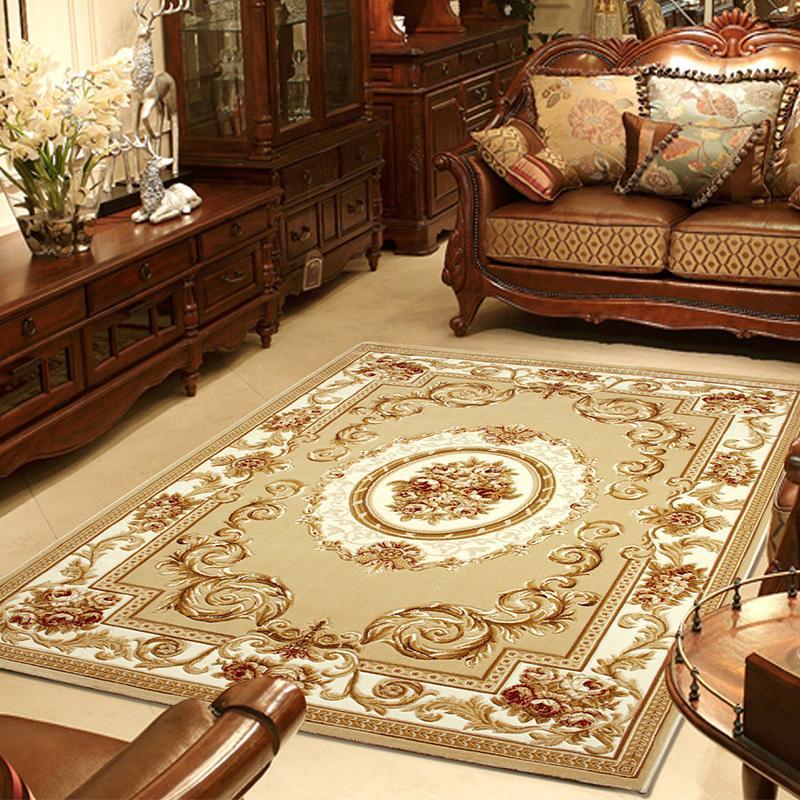 欧式床下地毯图片大全