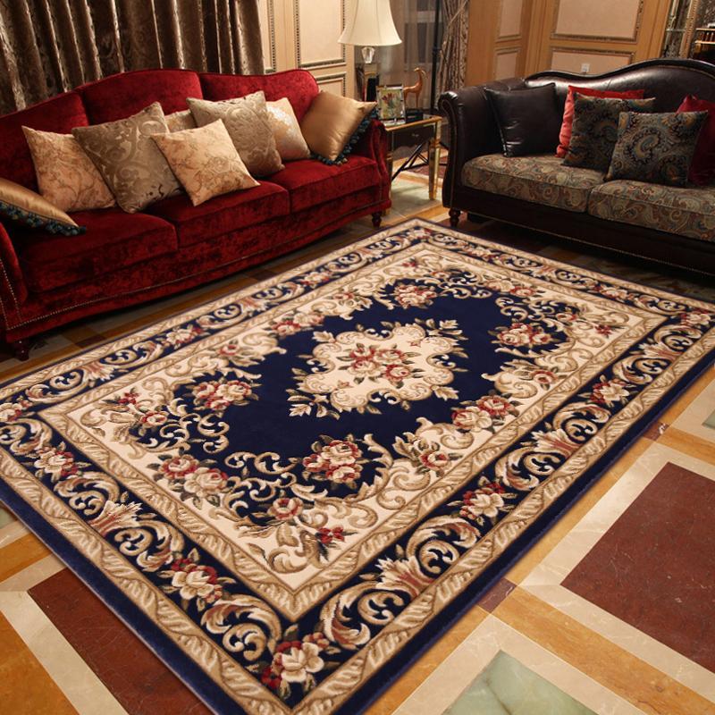 客厅地毯 欧式茶几沙发卧室床前床边飘窗大地毯地垫