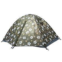 牧高笛 双人双层铝杆防风透气帐篷 冷山2AIR [墨绿印花 210*(40+140+40)*110]