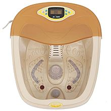 周林频谱 足浴盆全自动按摩洗脚盆电动按摩加热泡脚盆深桶足疗盆 WT-D303