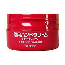 SHISEIDO 资生堂 尿素弹力美润护手霜 改善手部细纹 深层滋润100g(日本本土版)(二库)