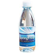 Spring fresh 新西兰天然矿泉水 [350ml/瓶 24瓶/箱]