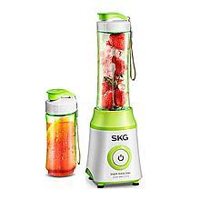 SKG 多功能料理机便携式榨汁机 搅拌机 2070+赠3M思高多用途剪刀套装 [白色+绿色]