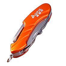 奥派克 十二合一多功能野营户外组合工具军刀 APK-8502[橘色- APK-8502]