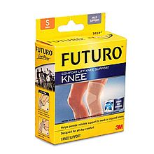 3m 护多乐经典系列运动防护护膝 舒适型 [S码]