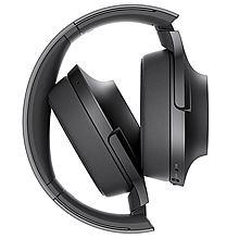 索尼 h.ear on Wireless NC 无线降噪立体声耳机 MDR-100ABN[黑色]