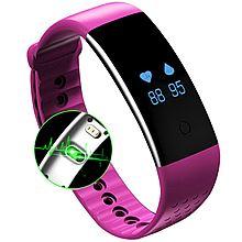 民商智惠 纽曼 G790 血氧心率智能手环男女运动手环手表计步器 [气质粉]