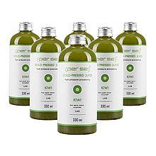 沛时 猕猴桃复合生果汁 产品升级 加量不加价 冷压鲜榨 [330ml*6瓶]