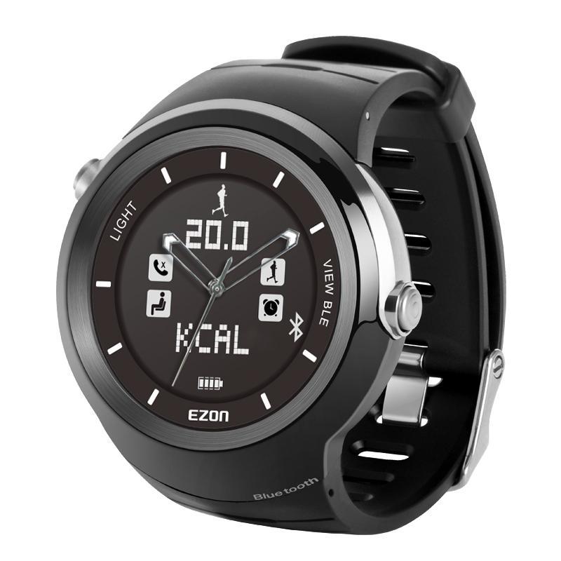宜准ezon宜准跑步表蓝牙智能手表男防水多功能户外运动电子手表s3 [s3
