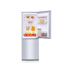 奥马 双门家用电冰箱两门节能冷冻冰箱BCD-176A7 [拉丝银]