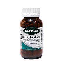 Thompson's 汤普森葡萄籽精华两瓶装 [2*120粒]
