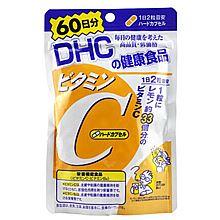 dhc 维生素C 60日 维他命C/VC 促进胶原蛋白吸收 美白肌肤 [578mg*120粒]