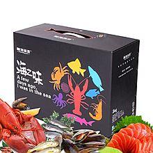 馨海渔港 环球品享 进口高档海鲜礼盒 大礼包 全国顺丰配送 [6kg]