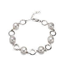 惟忆 素年锦时 天然珍珠 925纯银手链 附证书 20045289 [白色]