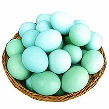 满山兜 绿壳鸡蛋 新鲜乌鸡蛋 富硒鸡蛋 高山生态放养绿壳乌鸡蛋 [30个]