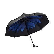BananaUmbrella 蕉下 BH-M双层三折小黑伞 [蓝靛BU5274]