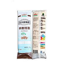 亲民食品 农垦食品 可溯源 有机荞麦粉挂面 精选面粉制作 速食面条 [278g/包×2]