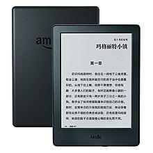 KINDLE 全新入门款升级版6英寸电子墨水触控显示屏电子书阅读器 [黑色]