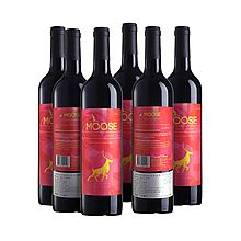 麋鹿 澳洲 Elk series粉红 混酿 干红葡萄酒6瓶箱装 [750ml*6瓶]