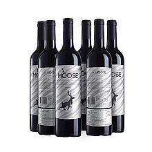 麋鹿 澳洲 Elk series亮灰 西拉子干红葡萄酒6瓶箱装 [750ml*6瓶]