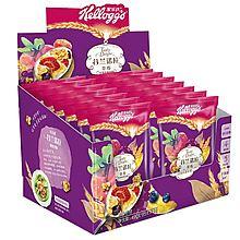 Kellogg's 家乐氏 谷兰诺拉草莓什锦水果谷物麦片 不添加色素 多种谷物 多种水果 [490g(35g*14)]