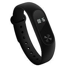 小米 (MI)小米手环2代 智能运动手环 心率手环腕带防水手表计步器 小米手环2黑色