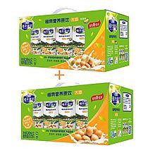 蒙牛 植朴磨坊两种口味组合装(大豆原味加香蕉味) [245ML*12/箱*2/组]