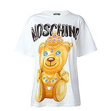 MOSCHINO 莫斯奇诺 小熊印花T恤 7030540 7030540[白色XS]