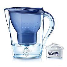 民商智惠 德国BRITA 碧然德滤水壶 Marella金典系列3.5L蓝色 净水壶净水器 [3.5L]