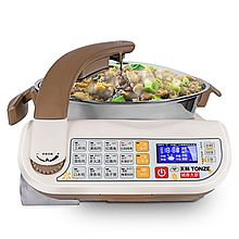 天际 自动烹饪锅 懒人炒菜机 健康大厨 CG-D30AI [咖啡色]