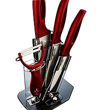 乐扣乐扣 比得兔高档陶瓷刀具五件套 刀具辅食刀、切肉切寿司、料理家用西式小菜刀、陶瓷水果刀 [PR-T551]