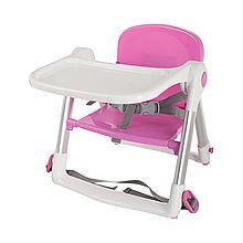 APRAMO Apramo 安途美 儿童餐椅多功能便携可折叠宝宝吃饭餐桌餐椅 flippa [粉色]