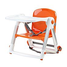 APRAMO Apramo 安途美 儿童餐椅多功能便携可折叠宝宝吃饭餐桌餐椅 flippa [橙色]
